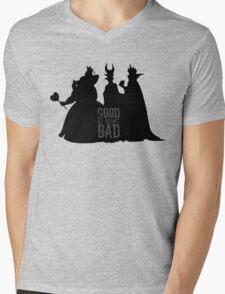 Being Bad Mens V-Neck T-Shirt