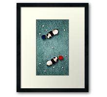 Animal Art - Ping Pong Pandas Framed Print