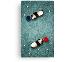 Animal Art - Ping Pong Pandas Canvas Print