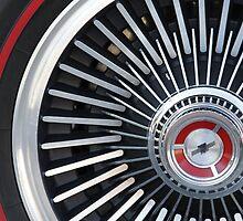 '67 Vette Wheel by dlhedberg