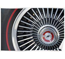 '67 Vette Wheel Poster