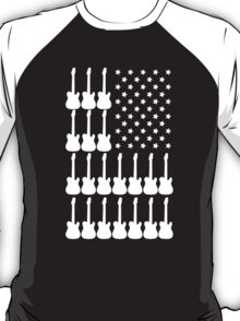 AMERICAN GUITAR INDEPENDENCE DAY T-Shirt
