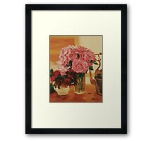 First Roses of Spring Framed Print