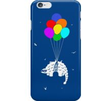 Flying Ankylosaur iPhone Case/Skin