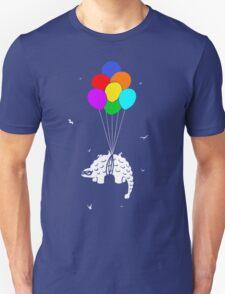 Flying Ankylosaur Unisex T-Shirt