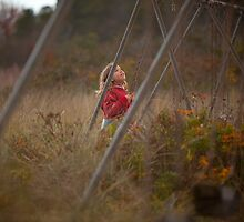 Daughter Swinging by Charles Blier