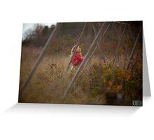 Daughter Swinging Greeting Card