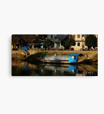HouseBoat - Viet Nam Canvas Print