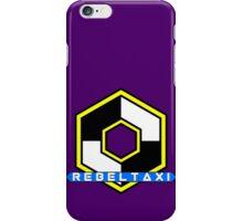 Rebel Taxi logo 3 iPhone Case/Skin