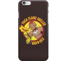 Yoga Flame Grilled BBQ iPhone Case/Skin