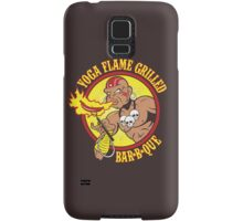 Yoga Flame Grilled BBQ Samsung Galaxy Case/Skin