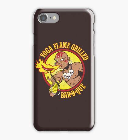 Yoga Flame Grilled BBQ iPhone Case/Skin