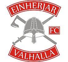 Einherjar Fightclub Valhalla Photographic Print