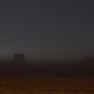 Foggy Night at the Farm by Lisa Holmgreen