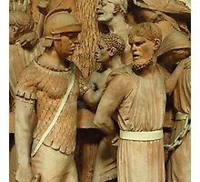 Roman Soldier and The Prisoner Photographic Print