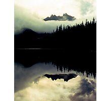 Three Fingered Jack, Duffy Lake, Oregon Photographic Print