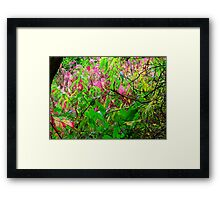 Touch Of Pink Framed Print
