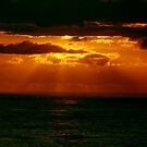 Pacific Ocean Sunset by Syd Bates