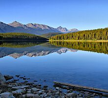 Patricia Lake, Jasper National Park by Teresa Zieba
