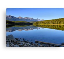 Patricia Lake, Jasper National Park Canvas Print