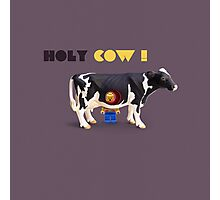 Animal Art - Holy Cow! Photographic Print