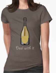 Deal With It Womens Fitted T-Shirt