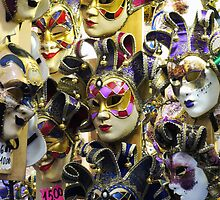 Carnival Masks by Rae Tucker