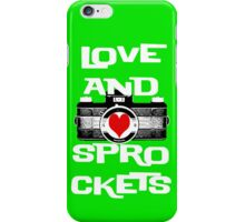 Love and Sprockets iPhone Case/Skin