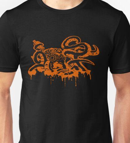 SFOctopus: Orange And Black Unisex T-Shirt