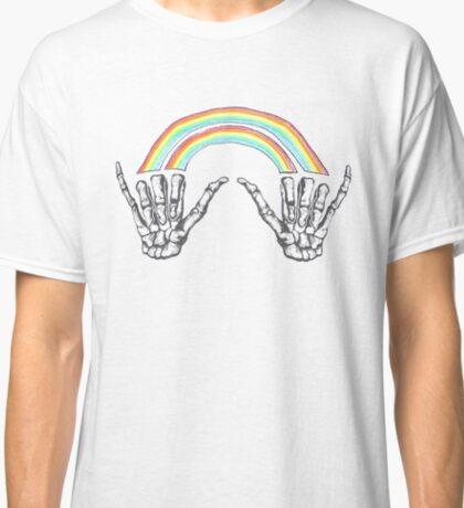 Louis Tomlinson Double Rainbow Hands Classic T-Shirt