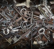 Rusted Keys by Brad Levine