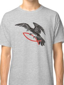 Raven with fish... Classic T-Shirt