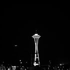 space needle. by trounoir