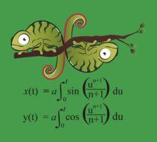 Euler Spiral One Piece - Short Sleeve