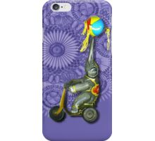 Wind up Toy Elephant on Bicycle, Iphone case, by Alma Lee iPhone Case/Skin
