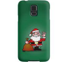 Santa Claus waving Samsung Galaxy Case/Skin