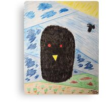 Bird Makes Fancy Self Portrait Canvas Print