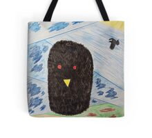 Bird Makes Fancy Self Portrait Tote Bag