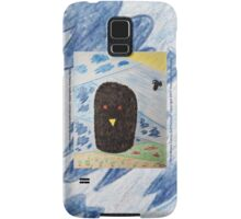 Bird Makes Fancy Self Portrait Samsung Galaxy Case/Skin