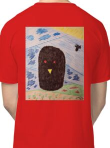 Bird Makes Fancy Self Portrait Classic T-Shirt