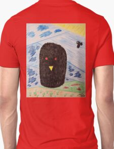 Bird Makes Fancy Self Portrait T-Shirt