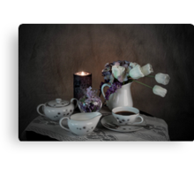 Time For A Little Coffee Canvas Print