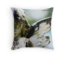 Iris - Hunter Valley Throw Pillow