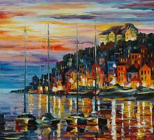 SEA LEGEND - LEONID AFREMOV by Leonid  Afremov