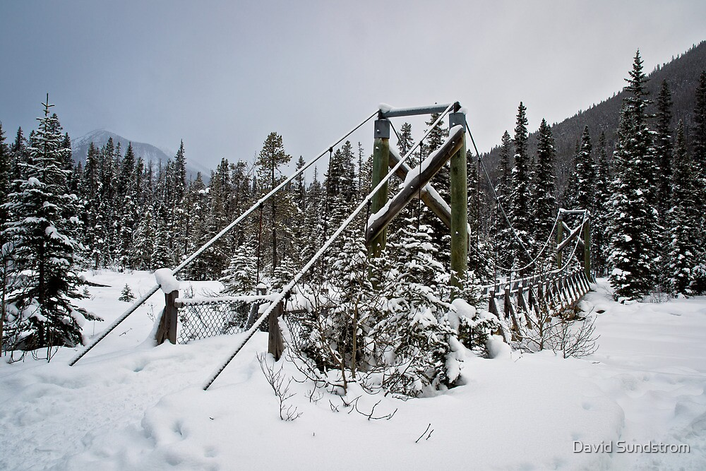 Winter Bridge by David Sundstrom