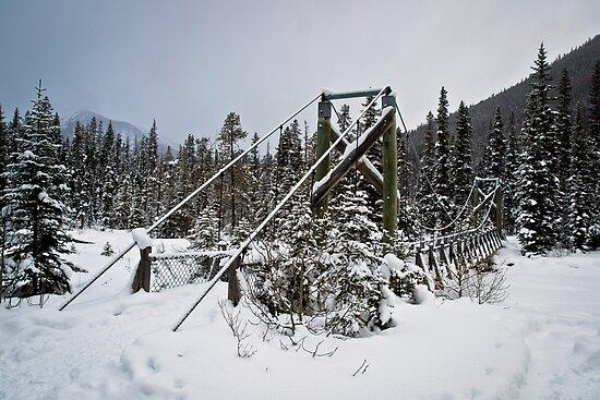 Winter Bridge by David Sundstrom