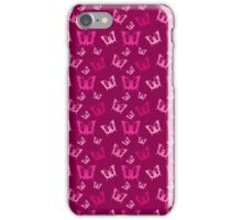 Breast Cancer Butterfly Ribbons iPhone Case/Skin