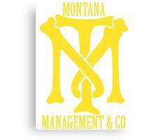 Montana Management & Co Tony Montana - Scarface - Movie Canvas Print