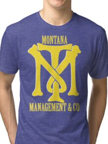 Montana Management & Co Tony Montana - Scarface - Movie Tri-blend T-Shirt