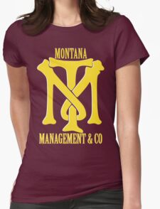 Montana Management & Co Tony Montana - Scarface - Movie Womens Fitted T-Shirt